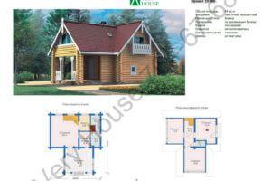Проект дома 10-80