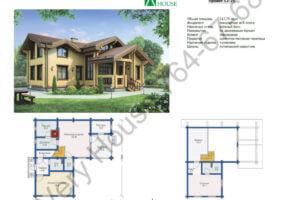 Проект дома 12-25