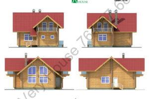 Проект дома 10-56