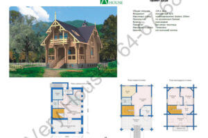 Проект дома 10-38