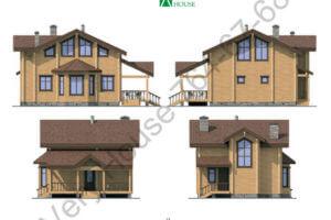 Проект дома 12-12