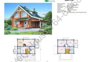 Проект дома 11-90
