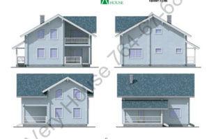 Проект дома 11-96