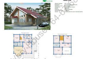 Проект дома 11-03