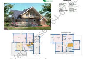 Проект дома 10-97