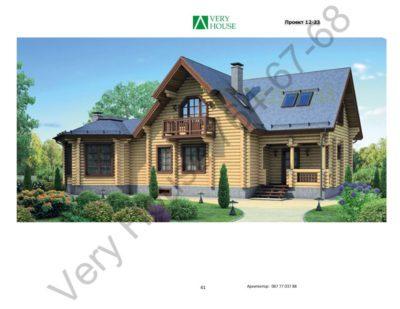 Проект дома 12-23